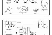 abc colouring pages