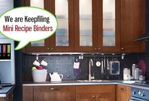 Kitchen Organizing / Keepfiling is also trying to help you keep things organized, even in the kitchen!  Browse through this board for tips and other creative ideas on how to keep your kitchen clean and tidy.