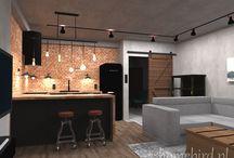 mieszkanie industrialne