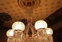 Lampen Danszaal
