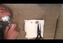 Repairing Fabric & Carpet / Easy but effective techniques to repair some types of fabric and carpet.