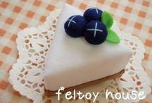 フェルト お菓子