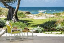 Outdoor Spaces by John Croft Design / A collection of images showing various outdoor spaces that John Croft Design have designed and decorated.