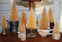bottle brush trees / by Sharon Cutbirth Hollenbeck Malenke