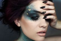 Avant Garde / Avant grade makeup and hair inspiration
