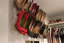 Opbergsysteem schoenen