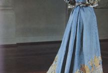 Regency gowns (real ones)