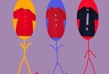 Kids Tshirts / Kids Tshirt Fashion designer Patricia Chávarri www.abasappa.com