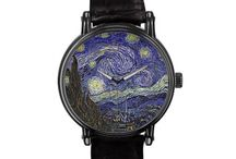 Vincent Van Gogh Watches / Watches featuring reproductions of Vincent Van Gogh's famous artwork. To see more go to www.VanGoghCustom.com / by Roz Abellera Art