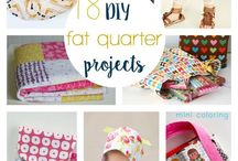 Fat quarter projects / Sewing