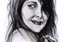 Things I sketch / I saw this photo portrait on weheartit.com and I thought it was a good idea to make a drawing of it.