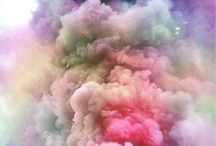 smoke and dust art