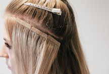 Pretty Tape Extensions Hairstyles