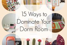 Dorm Life / Interior Decorating for student dorms, and off-campus housing