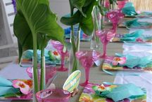 Hawaii theme party