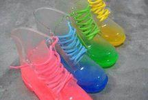 color boots