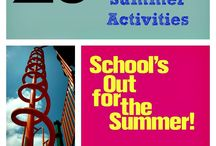 Summer! - Ideas for the Kids / Fun stuff for families with kids to do during the summer