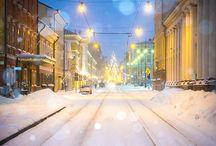 Talvinen Suomi
