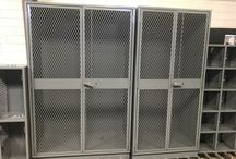 Northglenn Justice Center - Northglenn, CO #DeBourgh #Lockers / #HeavyDutyPeronnel #SentryOneLatch #StormGray #LouveredVentilation #PianoHinge #IndustrialStorageCabinet #ExpandedMesh #5KnuckleHinge #ClosedBase #DebourghStrong #DoorStiffener #DeBourgh #Lockers