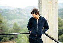 """FW15 UOMO / The fall winter 2015 collection was photographed at Solo Pezo House in Matarraña, only a few hours out of Barcelona.  The novelty of this season is stonewashed cashmere: sweaters are knitted in raw yarn, dyed and then stonewashed, making each piece a unique creation. """"The Iris von Arnim UOMO collection is distinguished by individual details. Our highlights are the reversible double faced blazer as well as the hand-made sweater with a rich cable pattern."""", says Valentin von Arnim."""
