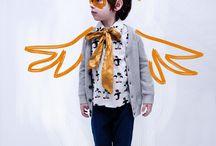 woodland creatures / ideas for an autumn kids fashion shoot