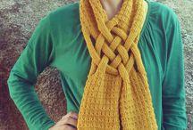 Scarfs crochet knitting