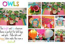 Girl Scouts - Owl Theme