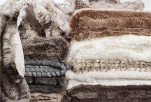 Kožušinové deky a vankúše