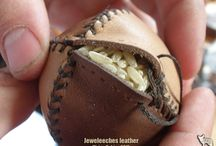 Ball leather