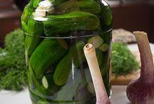 Заготовки овощей и фруктов