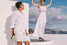 Photoshoot Mari and Kosuke / An amazing photoshooting in cloudy Santorini