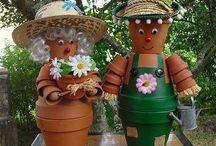 pots à fleurs déco