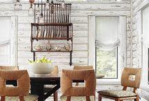 log house interiors