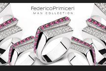 Man Collection by Federico Primiceri / Fine jewellery for Man by Federico Primiceri.