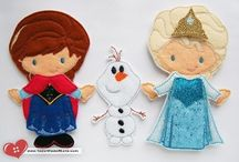 Felt Paper Dolls / by Angee Perry