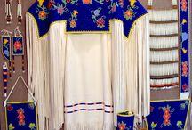 indianen kleding met kralen