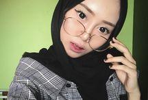 Hijab style sazida