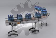 نقاله های انتقال بطری Bottle conveyor