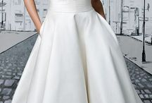 Gaun pengantin pendek