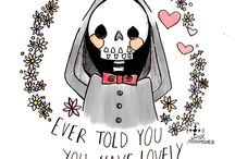 Skulls and skeletons ♥♥♥