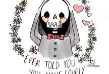 Skulls and skeletons ♥♥♥