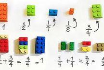 rekenles met lego