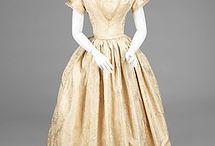 1840s wedding dresses