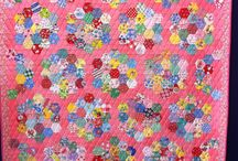 hexigons quilting