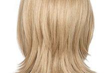 Medium Lengths haircut