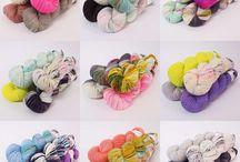 Yarn color combinations!