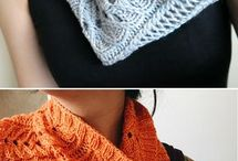 Knitted Scarves / Cowls
