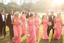 Coral wedding / Coral colour wedding inspiration
