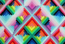 Geometric, Matterial Pattern