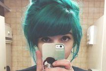 Hair Inspiration / by Dookie Kookie